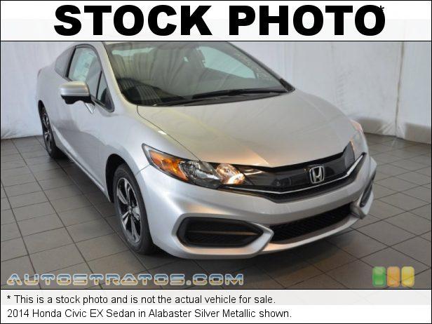 Stock photo for this 2014 Honda Civic EX Sedan 1.8 Liter SOHC 16-Valve i-VTEC 4 Cylinder CVT Automatic