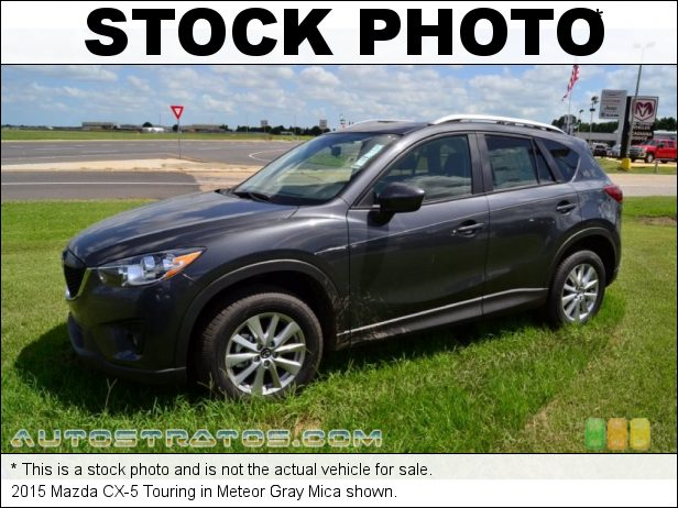 Stock photo for this 2015 Mazda CX-5 Touring 2.5 Liter SKYACTIV-G DI DOHC 16-Valve VVT 4 Cylinder 6 Speed Sport Automatic