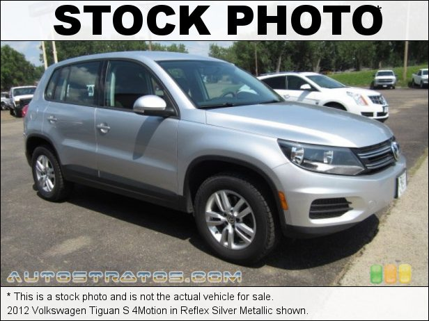 Stock photo for this 2012 Volkswagen Tiguan 4Motion 2.0 Liter FSI Turbocharged DOHC 16-Valve VVT 4 Cylinder 6 Speed Tiptronic Automatic