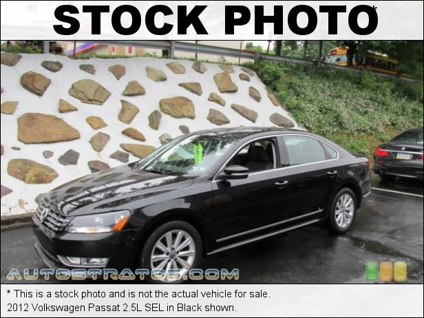 Stock photo for this 2013 Volkswagen Passat 2.5L SEL 2.5 Liter DOHC 20-Valve 5 Cylinder 6 Speed Tiptronic Automatic