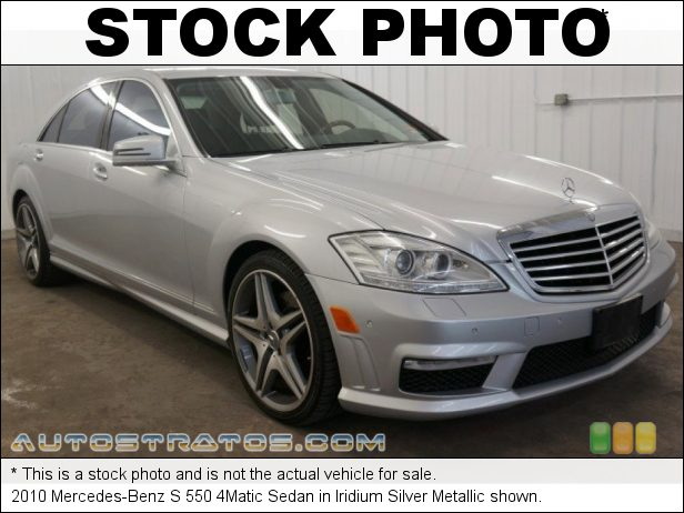 Stock photo for this 2010 Mercedes-Benz S 550 4Matic Sedan 5.5 Liter DOHC 32-Valve VVT V8 7 Speed Touch Shift Automatic
