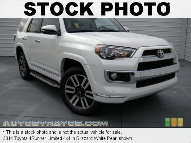 Stock photo for this 2014 Toyota 4Runner Limited 4x4 4.0 Liter DOHC 24-Valve Dual VVT-i V6 5 Speed Automatic