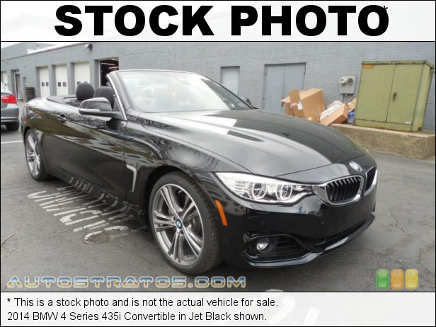 Stock photo for this 2014 BMW 4 Series 435i Convertible 3.0 Liter DI TwinPower Turbocharged DOHC 24-Valve VVT Inline 6 C 8 Speed Sport Automatic