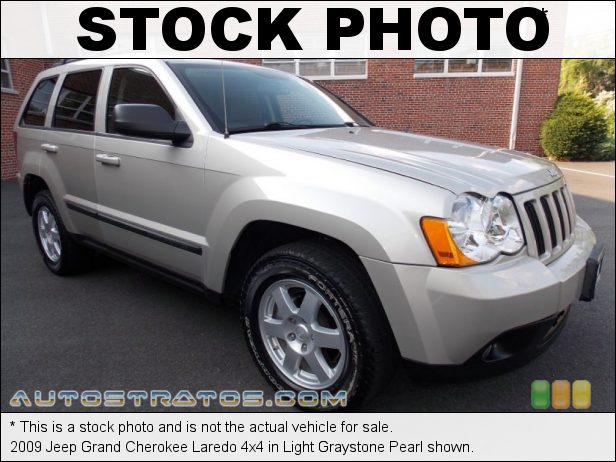 Stock photo for this 2009 Jeep Grand Cherokee Laredo 4x4 3.7 Liter SOHC 12-Valve V6 5 Speed Automatic