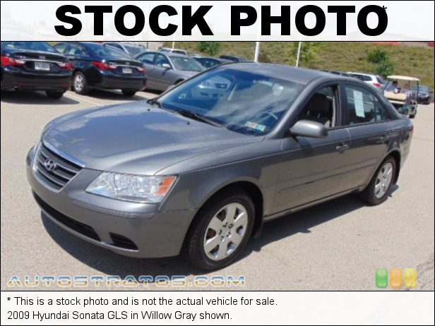 Stock photo for this 2009 Hyundai Sonata GLS 2.4 Liter DOHC 16V VVT 4 Cylinder 5 Speed Shiftronic Automatic