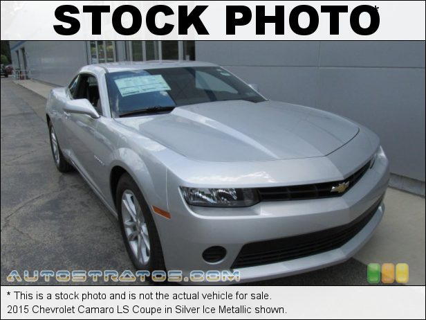 Stock photo for this 2015 Chevrolet Camaro LS Coupe 3.6 Liter DI DOHC 24-Valve VVT V6 6 Speed Automatic