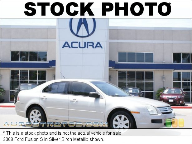 Stock photo for this 2008 Ford Fusion S 2.3L DOHC 16V iVCT Duratec Inline 4 Cyl. 5 Speed Manual