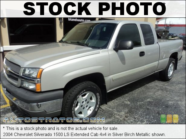 Stock photo for this 2000 Chevrolet Silverado 1500 LS Extended Cab 4x4 5.3 Liter OHV 16-Valve Vortec V8 4 Speed Automatic