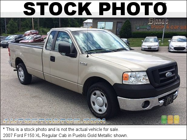 Stock photo for this 2007 Ford F150 STX Regular Cab 4.6 Liter SOHC 16-Valve Triton V8 4 Speed Automatic