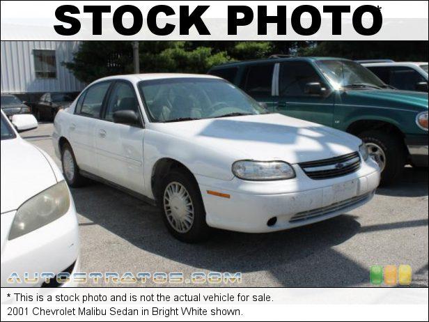 Stock photo for this 2001 Chevrolet Malibu Sedan 3.1 Liter OHV 12-Valve V6 4 Speed Automatic
