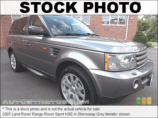 Stock photo for this 2007 Land Rover Range Rover Sport HSE 4.4 Liter DOHC 32V VVT V8 6 Speed CommandShift Automatic