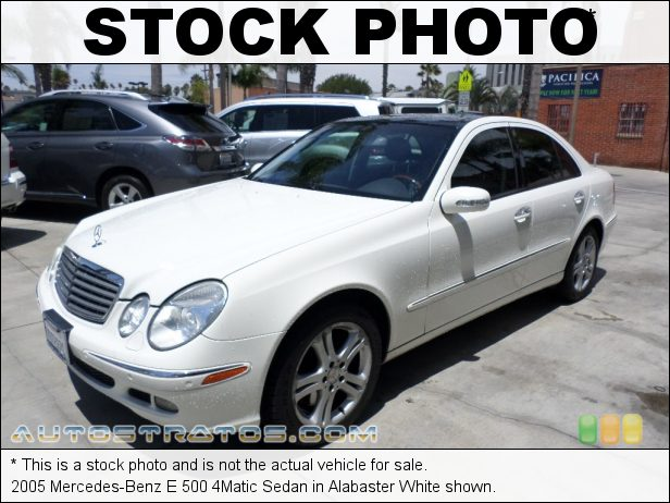 Stock photo for this 2005 Mercedes-Benz E 500 4Matic Sedan 5.0 Liter SOHC 24-Valve V8 5 Speed Automatic