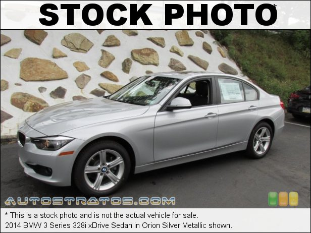 Stock photo for this 2014 BMW 3 Series xDrive Sedan 2.0 Liter DI TwinPower Turbocharged DOHC 16-Valve 4 Cylinder 8 Speed Steptronic Automatic