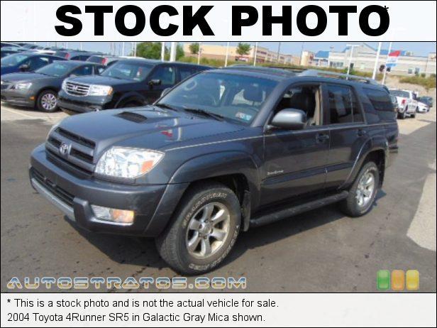 Stock photo for this 2004 Toyota 4Runner  4.0 Liter DOHC 24-Valve VVT-i V6 4 Speed Automatic
