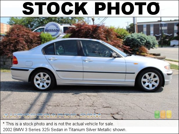 Stock photo for this 2002 BMW 3 Series 325i Sedan 2.5L DOHC 24V Inline 6 Cylinder 5 Speed Automatic