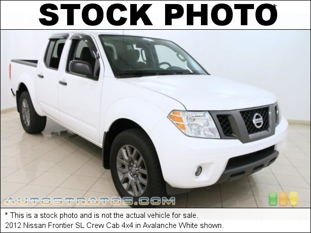 Stock photo for this 2012 Nissan Frontier Crew Cab 4x4 4.0 Liter DOHC 24-Valve CVTCS V6 5 Speed Automatic