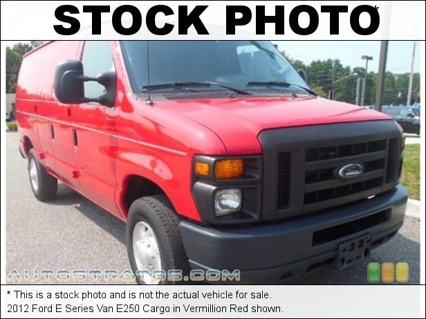 Stock photo for this 2012 Ford E Series Van E250 Cargo 4.6 Liter SOHC 16-Valve Flex-Fuel Triton V8 4 Speed Automatic
