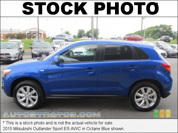 Stock photo for this 2015 Mitsubishi Outlander Sport ES 2.0 Liter DOHC 16-Valve MIVEC 4 Cylinder CVT Automatic