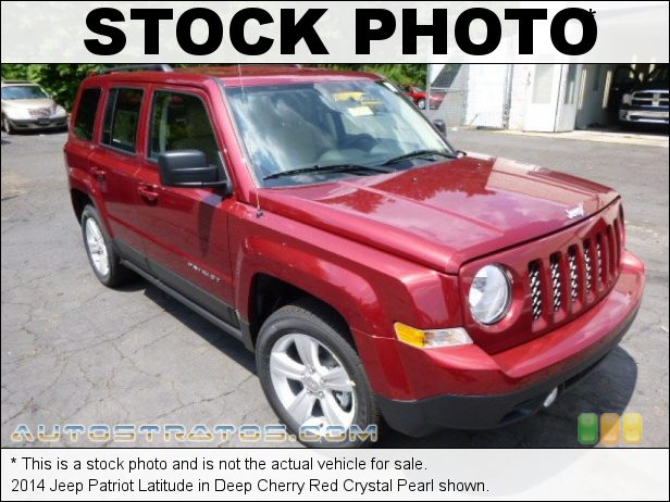 Stock photo for this 2014 Jeep Patriot Latitude 2.4 Liter DOHC 16-Valve Dual VVT 4 Cylinder 6 Speed Automatic