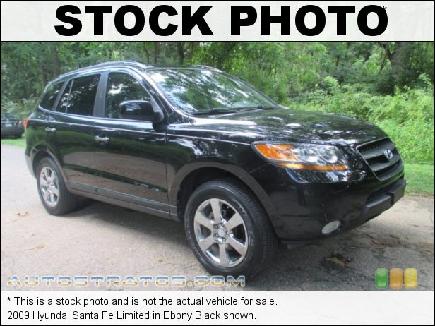 Stock photo for this 2009 Hyundai Santa Fe Limited 3.3 Liter DOHC 24-Valve V6 5 Speed Shiftronic Automatic