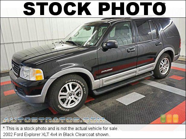 Stock photo for this 2002 Ford Explorer XLT 4x4 4.0 Liter SOHC 12-Valve V6 5 Speed Automatic