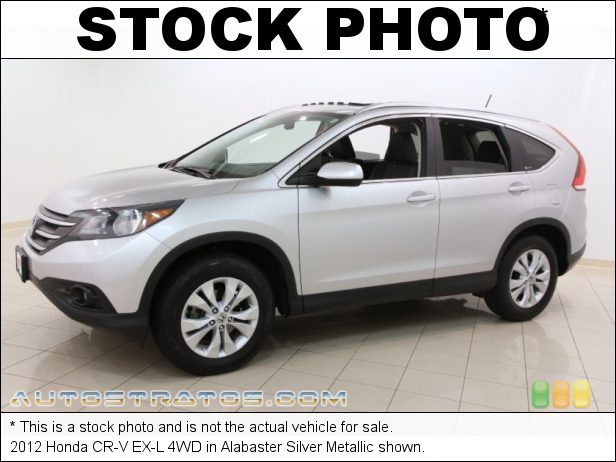 Stock photo for this 2012 Honda CR-V EX-L 4WD 2.4 Liter DOHC 16-Valve i-VTEC 4 Cylinder 5 Speed Automatic