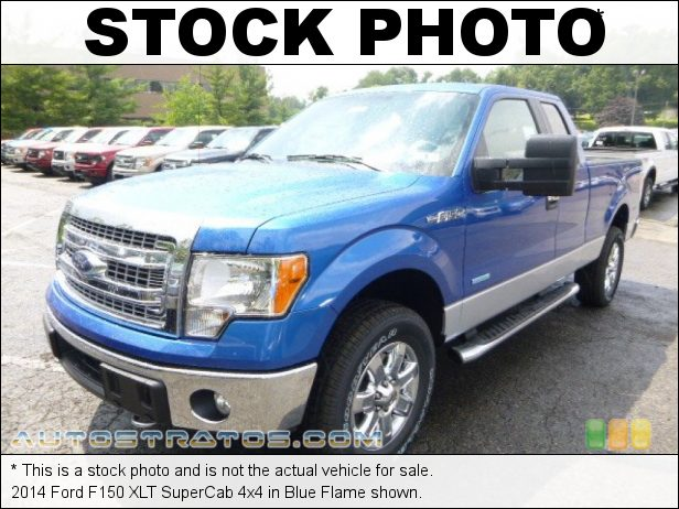 Stock photo for this 2014 Ford F150 SuperCab 4x4 3.5 Liter EcoBoost DI Turbocharged DOHC 24-Valve Ti-VCT V6 6 Speed Automatic