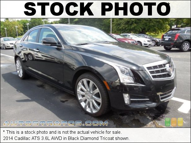 Stock photo for this 2014 Cadillac ATS 3.6L AWD 3.6 Liter DI DOHC 24-Valve VVT V6 6 Speed Automatic