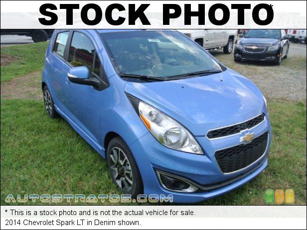 Stock photo for this 2014 Chevrolet Spark LT 1.2 Liter DOHC 16-Valve VVT 4 Cylinder CVT Automatic