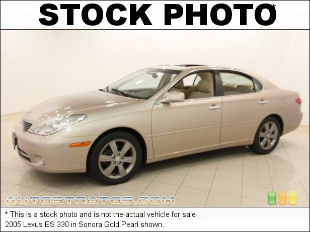 Stock photo for this 2005 Lexus ES 330 3.3 Liter DOHC 24-Valve VVT-i V6 5 Speed Automatic