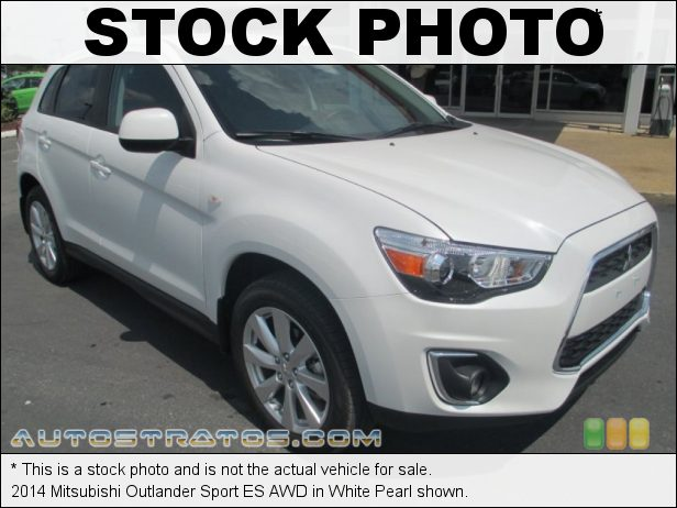 Stock photo for this 2014 Mitsubishi Outlander Sport ES 2.0 Liter DOHC 16-Valve MIVEC 4 Cylinder CVT Sportronic Automatic