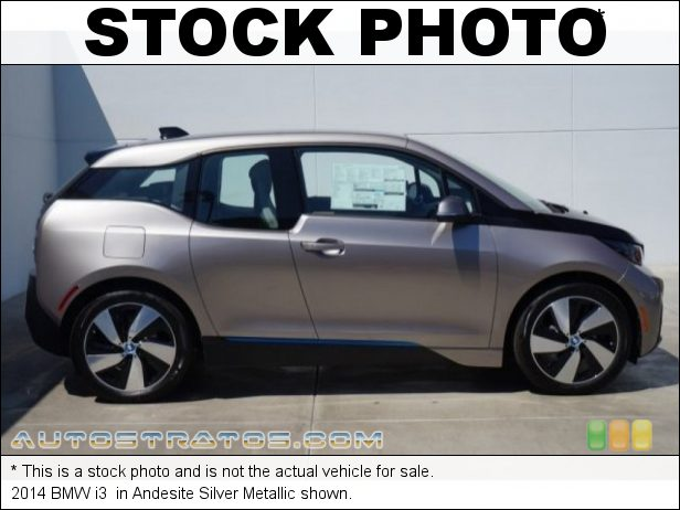 Stock photo for this 2014 BMW i3  125kW BMW eDrive Hybrid Sychronous Motor Single Speed Automatic