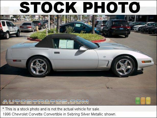 Stock photo for this 1996 Chevrolet Corvette Convertible 5.7 Liter OHV 16-Valve LT1 V8 4 Speed Automatic