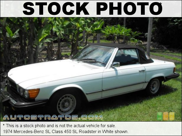 Stock photo for this 1979 Mercedes-Benz SL Class 450 SL Roadster 4.5 Liter SOHC 16-Valve V8 3 Speed Automatic
