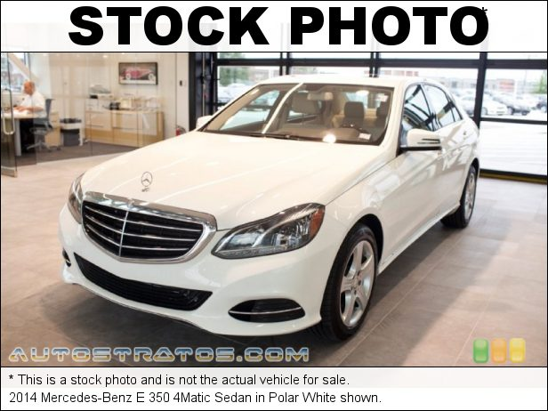 Stock photo for this 2014 Mercedes-Benz E 350 4Matic Sedan 3.5 Liter DI DOHC 24-Valve VVT V6 7 Speed Automatic