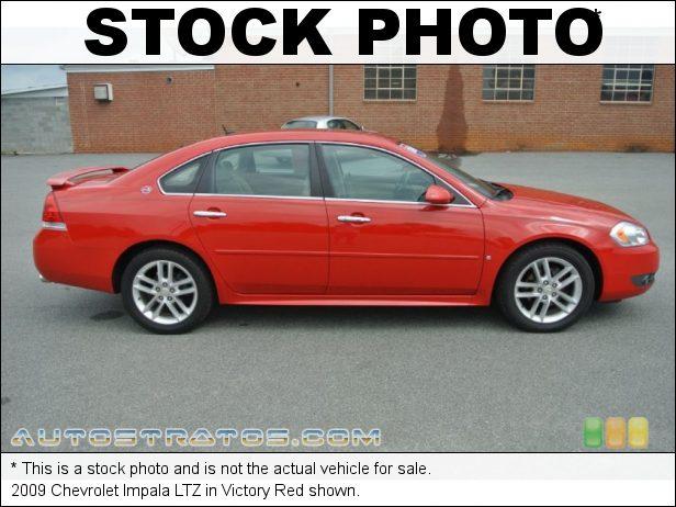 Stock photo for this 2009 Chevrolet Impala LTZ 3.9 Liter Flex-Fuel OHV 12-Valve VVT V6 4 Speed Automatic