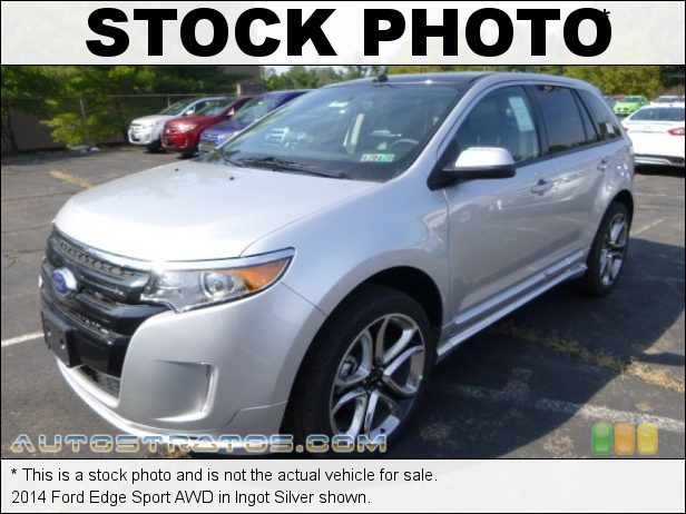 Stock photo for this 2014 Ford Edge Sport AWD 3.7 Liter DOHC 24-Valve Ti-VCT V6 6 Speed Automatic