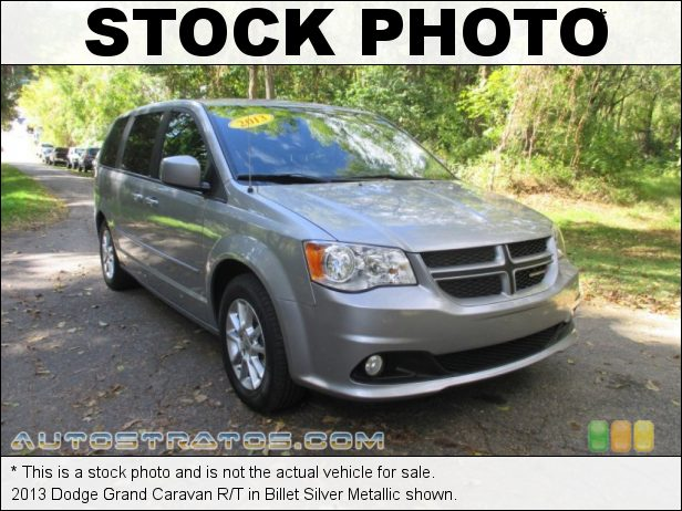 Stock photo for this 2013 Dodge Grand Caravan R/T 3.6 Liter DOHC 24-Valve VVT Pentastar V6 6 Speed AutoStick Automatic
