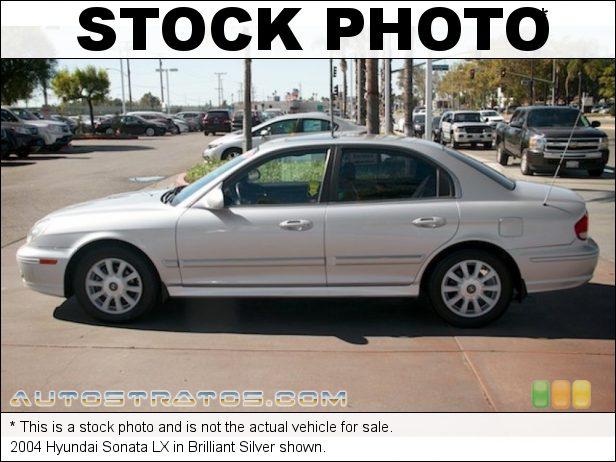 Stock photo for this 2004 Hyundai Sonata  2.7 Liter DOHC 24-Valve V6 4 Speed Automatic