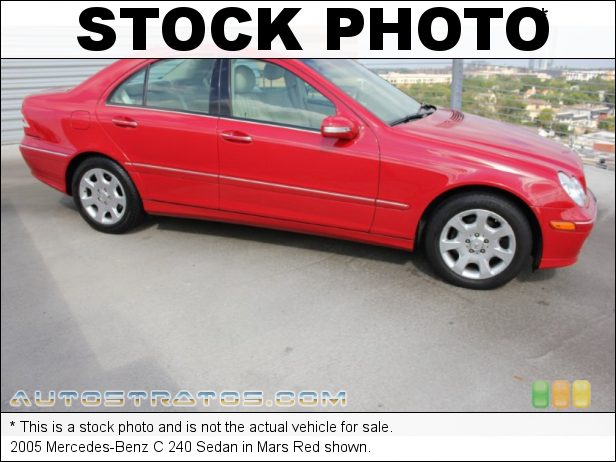 Stock photo for this 2005 Mercedes-Benz C 240 Sedan 2.6 Liter SOHC 18-Valve V6 5 Speed Automatic