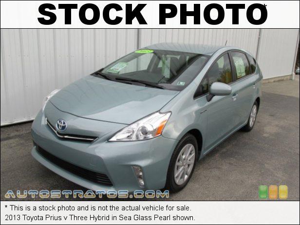 Stock photo for this 2013 Toyota Prius v Three Hybrid 1.8 Liter DOHC 16-Valve VVT-i 4 Cylinder Gasoline/Electric Hybri ECVT Automatic
