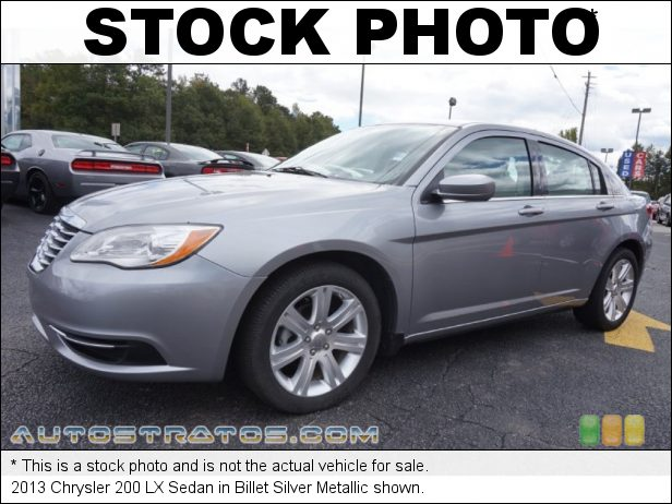 Stock photo for this 2013 Chrysler 200 LX Sedan 2.4 Liter DOHC 16-Valve Dual VVT 4 Cylinder 4 Speed Automatic