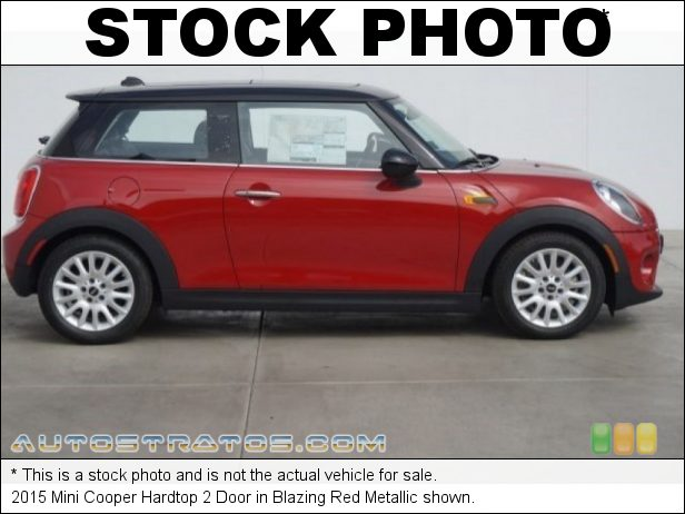 Stock photo for this 2015 Mini Cooper Hardtop 2 Door 1.5 Liter TwinPower Turbocharged DOHC 12-Valve VVT 3 Cylinder 6 Speed Automatic