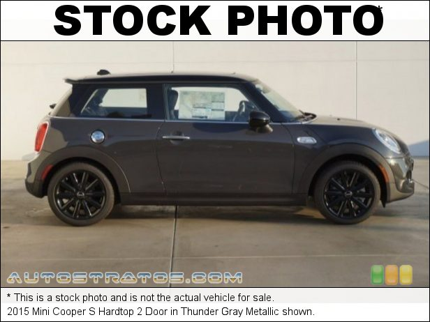 Stock photo for this 2015 Mini Cooper S Hardtop 2 Door 2.0 Liter TwinPower Turbocharged DOHC 16-Valve VVT 4 Cylinder 6 Speed Manual