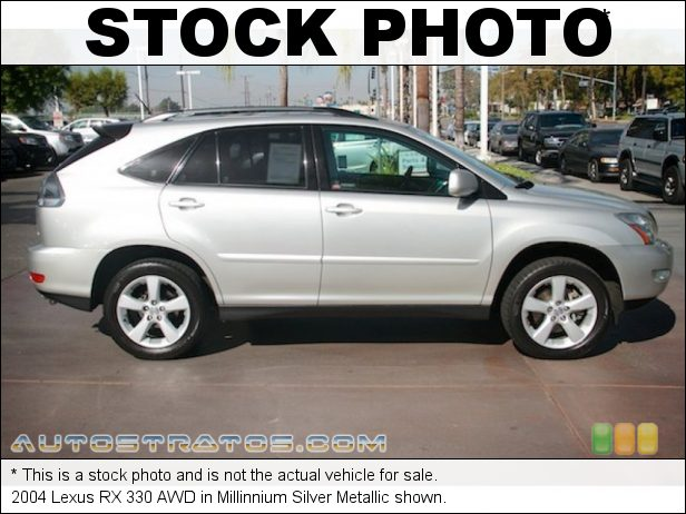 Stock photo for this 2004 Lexus RX 330 AWD 3.3 Liter DOHC 24 Valve VVT-i V6 5 Speed Automatic