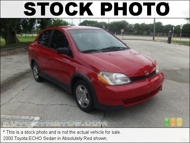 Stock photo for this 2002 Toyota ECHO Sedan 1.5 Liter DOHC 16-Valve VVT-i 4 Cylinder 4 Speed Automatic