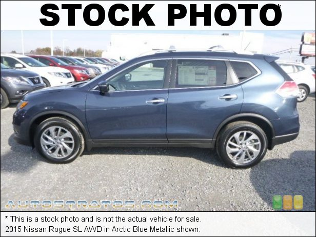 Stock photo for this 2015 Nissan Rogue SL AWD 2.5 Liter DOHC 16-Valve CVTCS 4 Cylinder Xtronic CVT AUtomatic