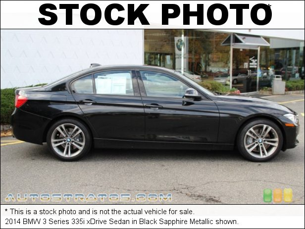Stock photo for this 2014 BMW 3 Series 335i xDrive Sedan 3.0 Liter TwinPower Turbocharged DOHC 24-Valve VVT Inline 6 Cyli 8 Speed Steptronic Automatic