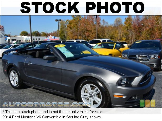 Stock photo for this 2014 Ford Mustang V6 Convertible 3.7 Liter DOHC 24-Valve Ti-VCT V6 6 Speed Manual
