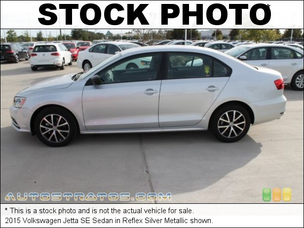 Stock photo for this 2015 Volkswagen Jetta Sedan 1.8 Liter TSI Turbocharged DOHC 16-Valve 4 Cylinder 6 Speed Automatic